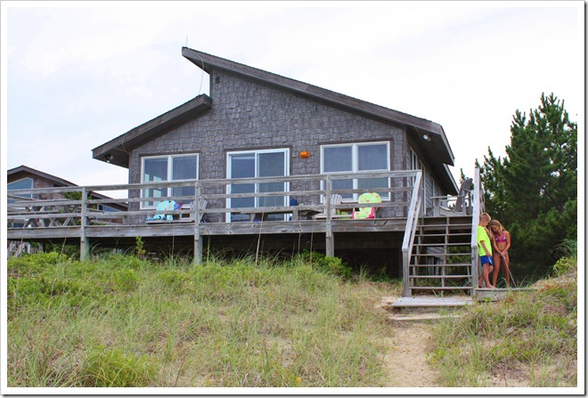 Hatteras island beach cottage sand and sisal for Hatteras cabins rentals