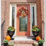 Decorating a Fall Front Porch