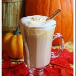 Pumpkin Lattes {with Spiced Pumpkin Whipped Cream}