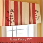 Dish Towel Valance Sand And Sisal