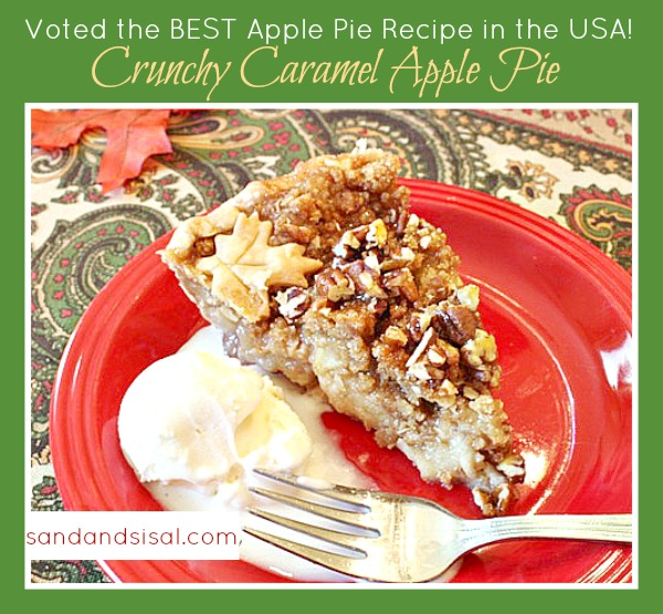 Crunchy Caramel Apple Pie Recipe