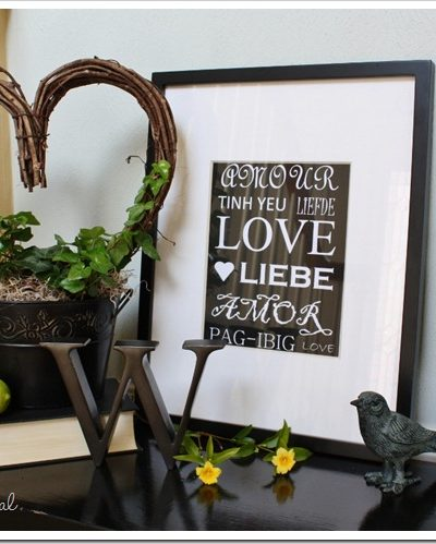 Fresh Green Valentine's Display