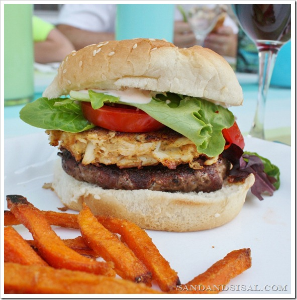 The Ultimate Crab Cake Burger - Sand and Sisal