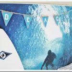 Wood Beach Pennant Banner