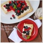 Sugar Free Triple Berry Tart