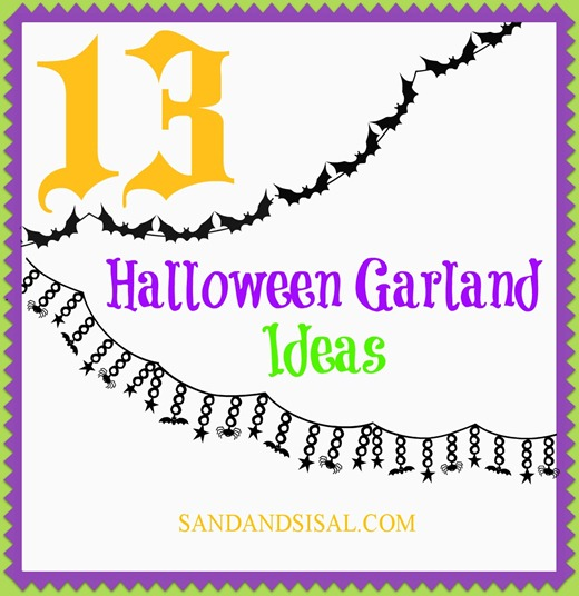 13 Halloween Garland Ideas