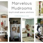 Marvelous Mudrooms - Big and Small Space Solutions
