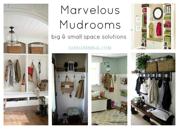 Marvelous Mudrooms Big Amp Small Space Solutions Sand And
