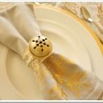 DIY Jingle Bell Napkin Rings