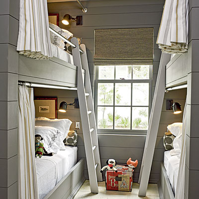 Boys bunk room