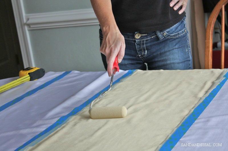 DIY Curtains - Sand and Sisal