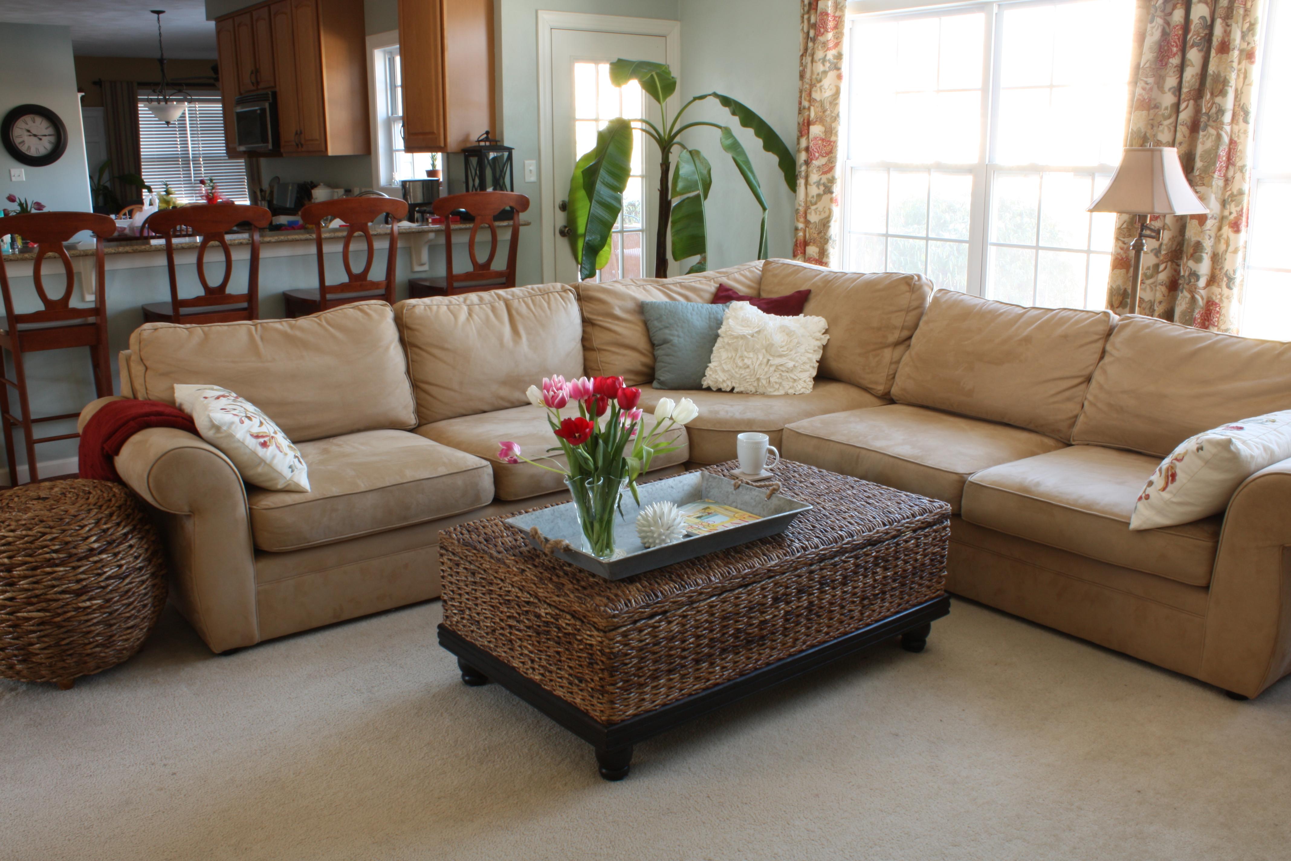 Better Homes & Gardens Family Room Refresh - Sand and Sisal