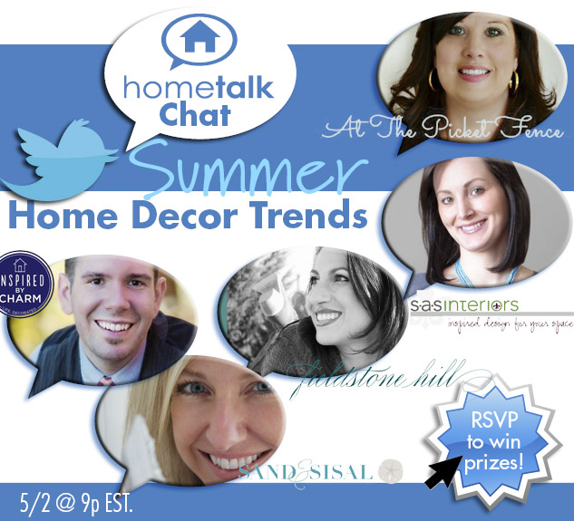 Hometalk Twitter Chat2904