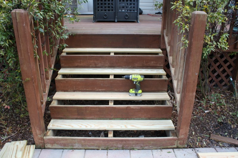 How to lay stair treads
