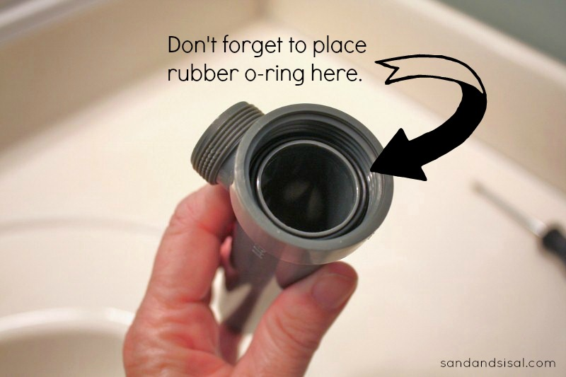 Installing a drain