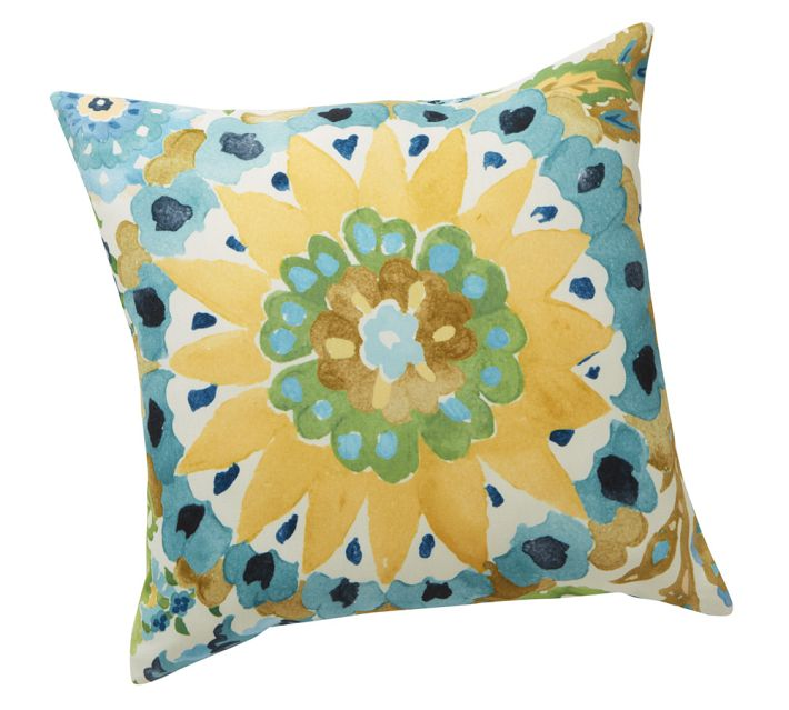 Malena Outdoor Pillow -Pottery Barn