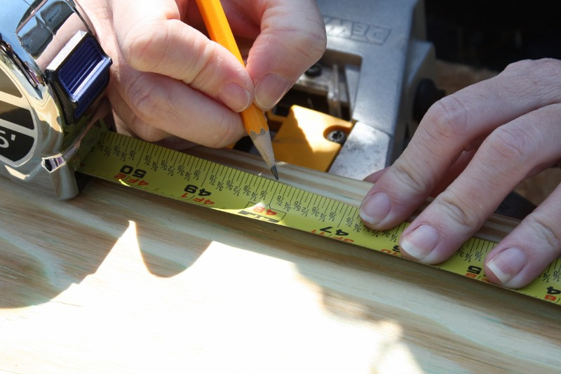Measure and mark