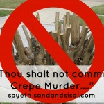 Thou Shalt Not Commit Crepe Murder