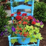 chair planter - creative containers