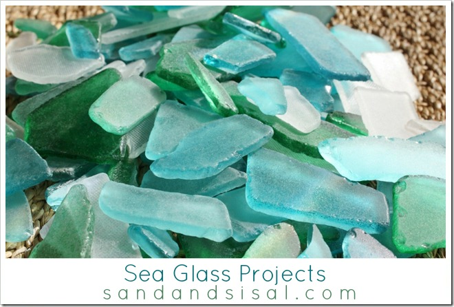 Sea Glass Projects - www.sandandsisal.com