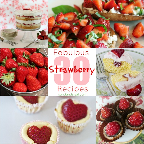 30 Strawberry Recipes