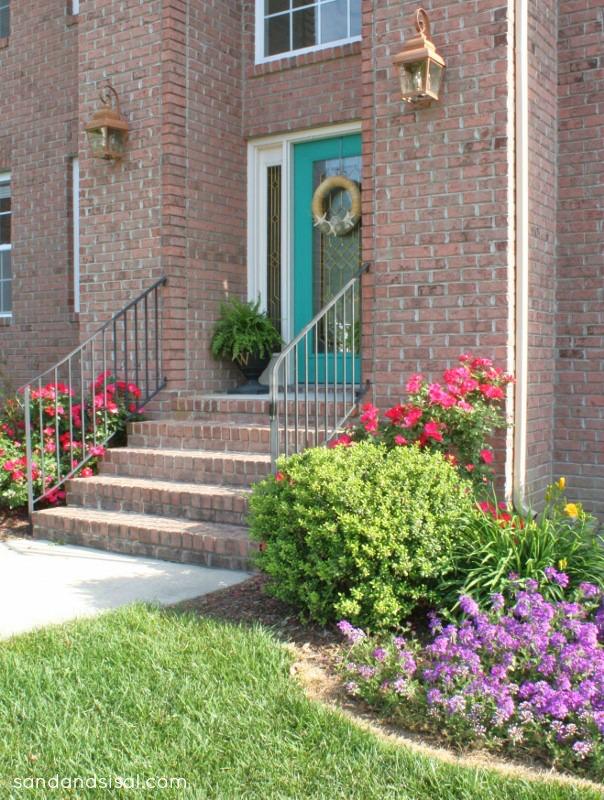 bright front door