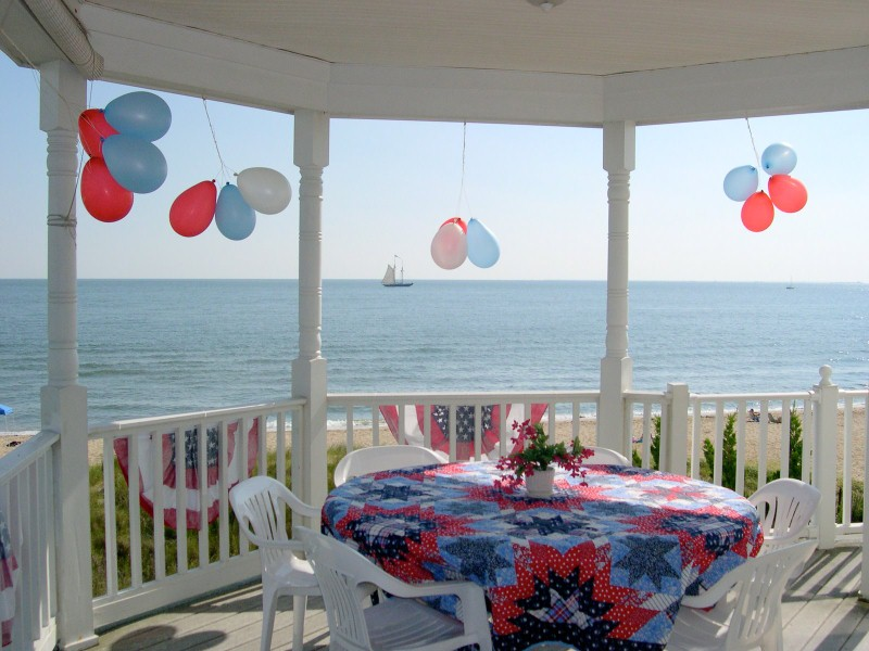 Fourth of July Beach house