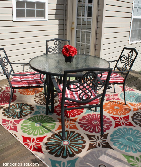 bright colored outdoor rugs | roselawnlutheran