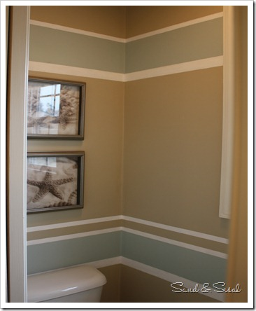 Reader feature bathroom makeover sand and sisal - How to prepare bathroom walls for painting ...