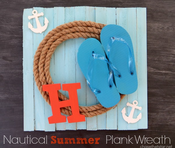 15 easy rope crafts sand and sisal nautical summer wreath do it yourself solutioingenieria Image collections
