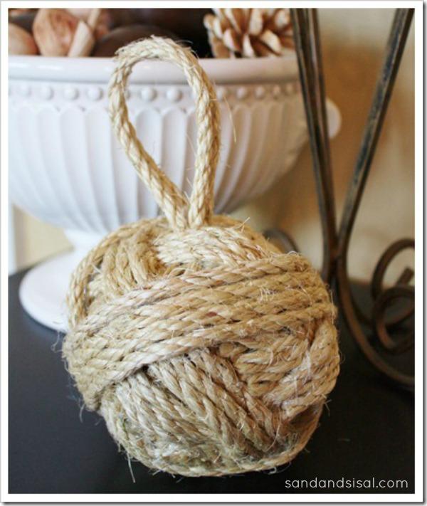diy sisal rope ball - Sisal Rope
