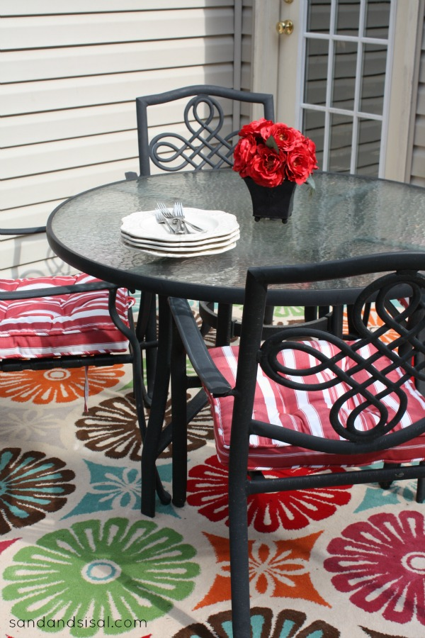 floral outdoor rug 2