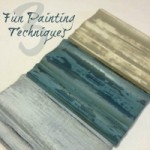 3 Painting Techniques for Furniture