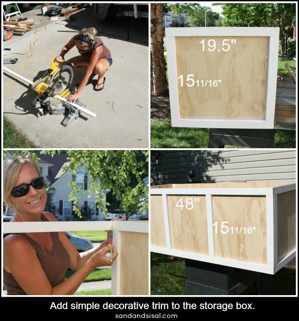 Add trim to storage box