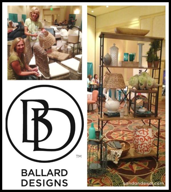 Ballard Designs Set up at Haven Conference