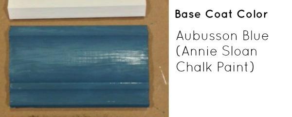 Base Coat Color- Aubusson Blue