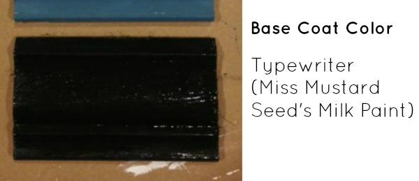 Base Coat Color - Typewriter- Miss Mustard Seed Milk Paint