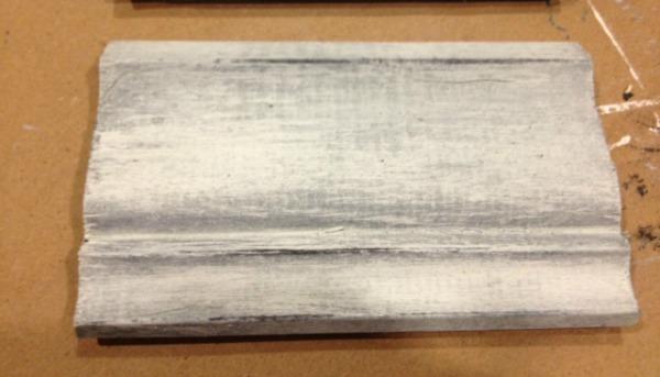 Dry Brush on Ironstone MMS Milk Paint