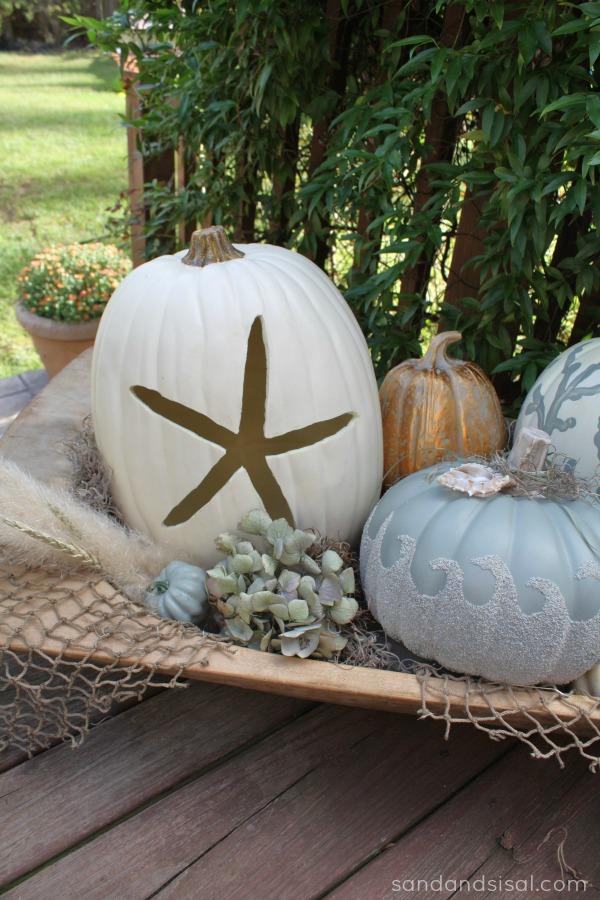 Coastal Fall Pumpkins