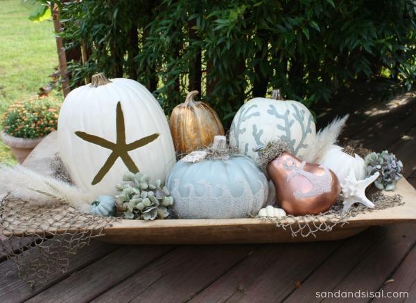 Cool Coastal Pumpkins