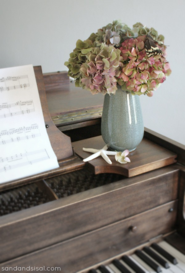 Dried Hydrangea Arrangement