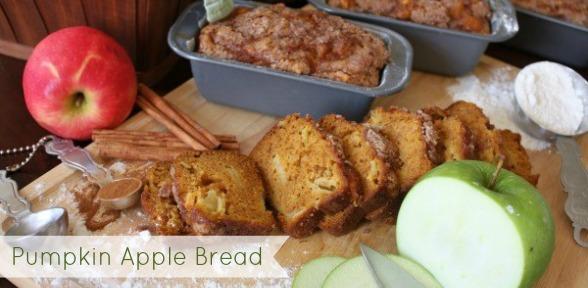 Pumkin Apple Bread slide