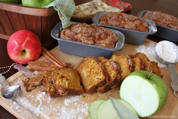 Pumkin Apple Bread