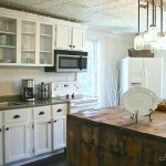 White Country Kitchen - Budget Cabinet Makeover