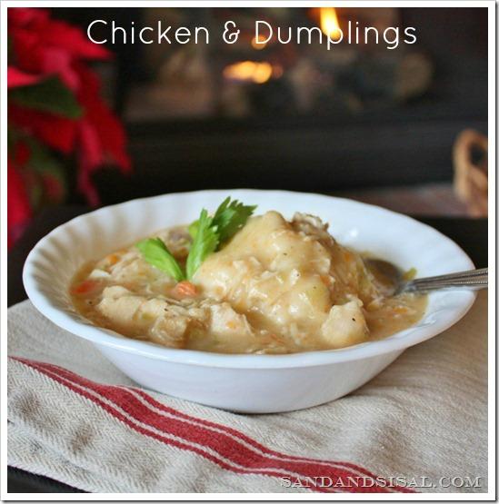 Chicken 'n Dumplings