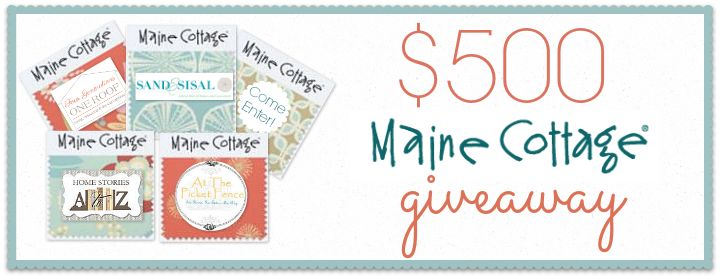 $500 Maine Cottage Giveaway