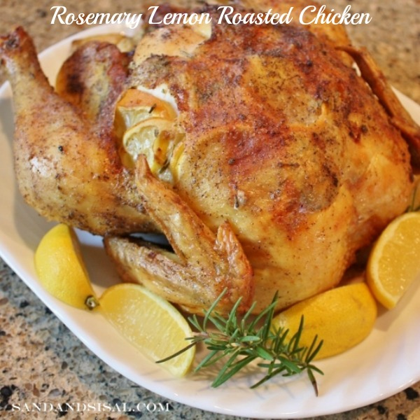 Rosemary Lemon Chicken Recipe — Dishmaps