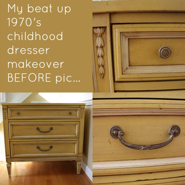 Chalk Paint® Dresser Makeover (Part 1) - Sand and Sisal