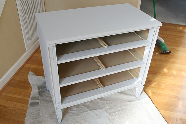 Chalk Painted Dresser Without Wax