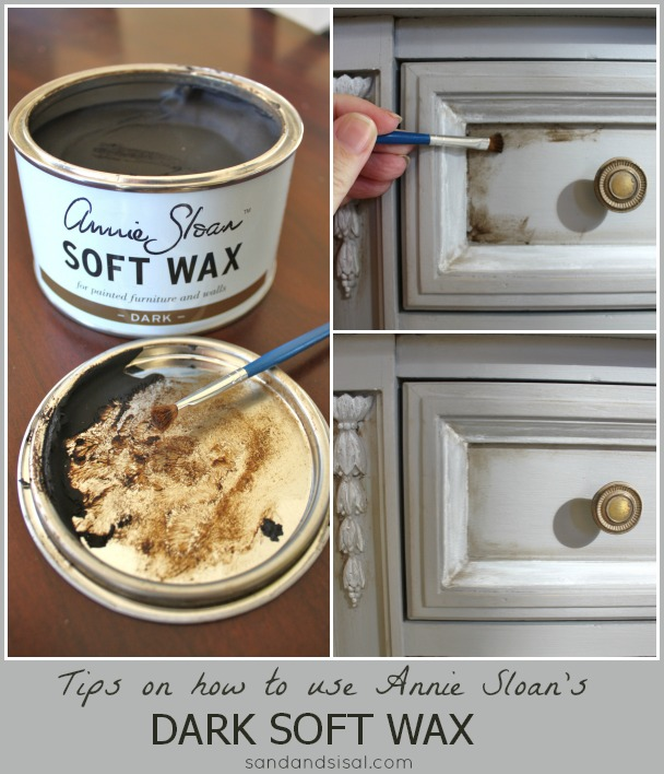 How to Use Annie Sloan Dark Soft Wax
